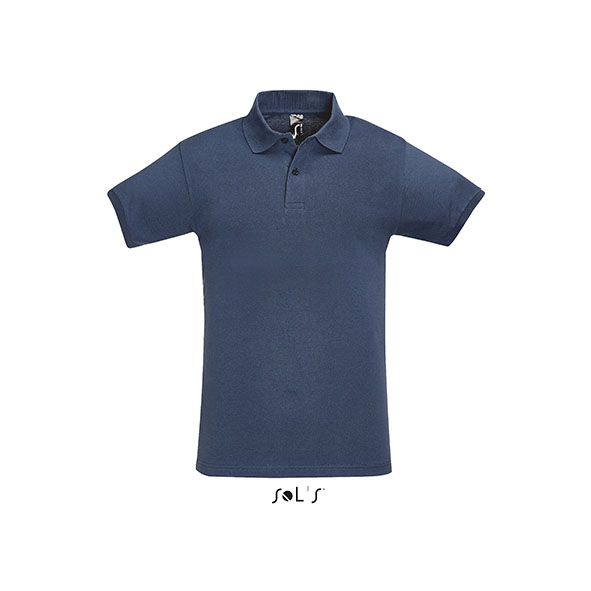 Perfect Men Polo T-Shirt  - Denim sol-11346 de