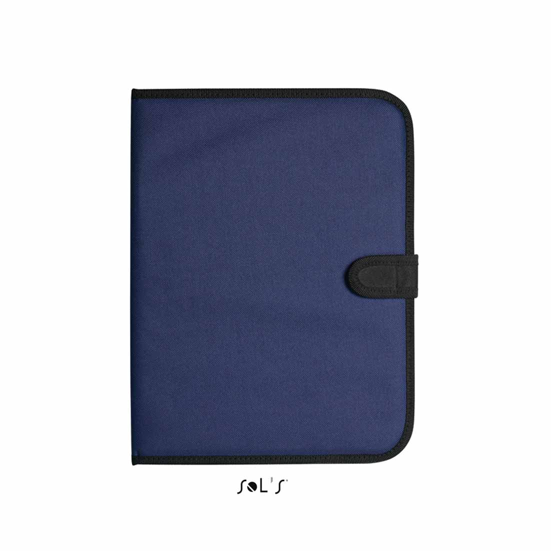 A4 conference folder with notepad - blue sol-73300 bl