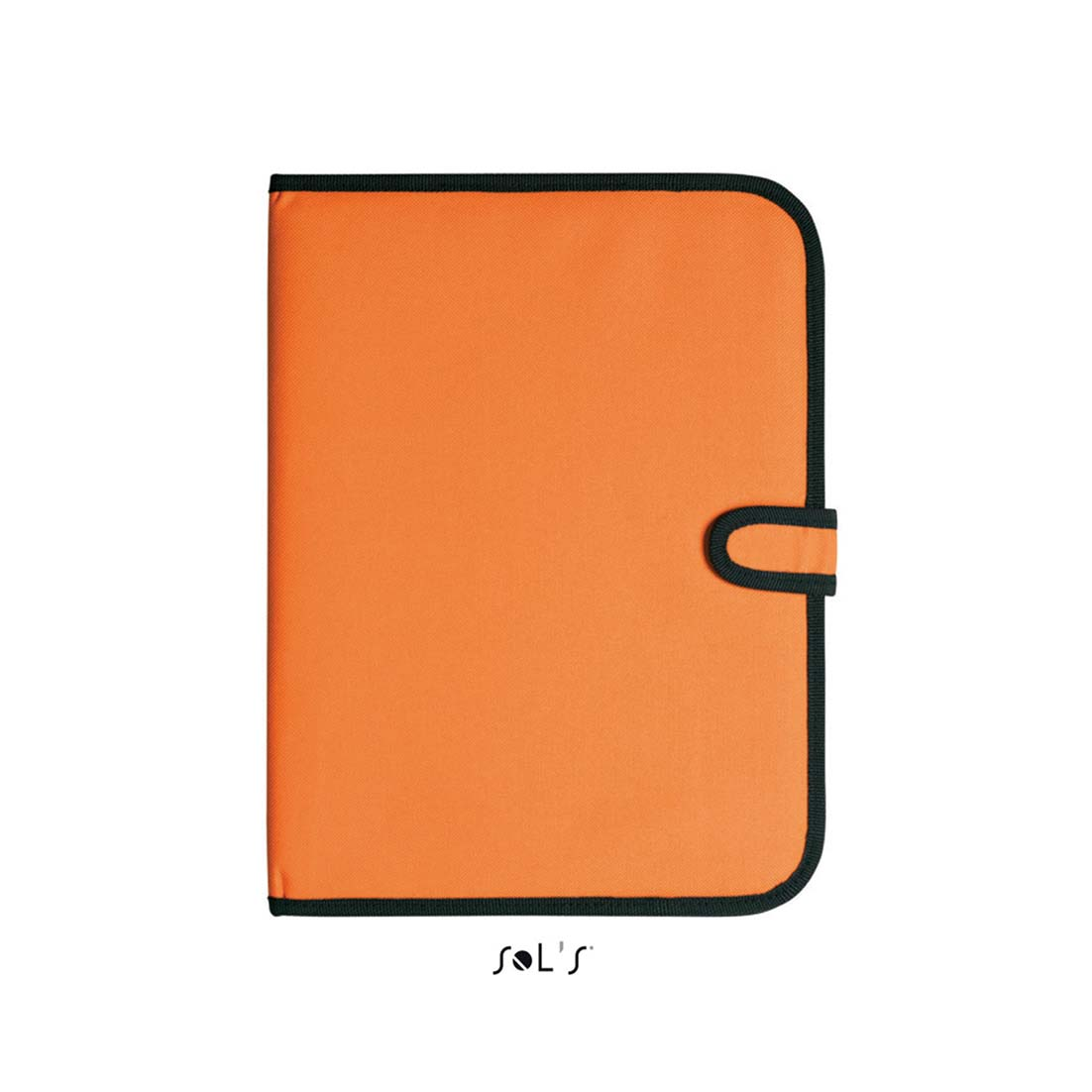 A4 conference folder with notepad - orange sol-73300 or