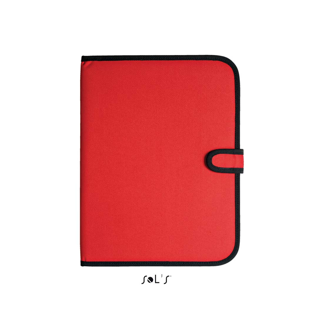 A4 conference folder with notepad - red sol-73300 r