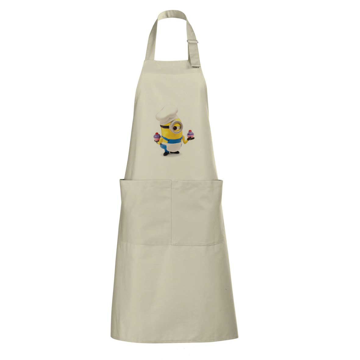 "sol's ""gala"" unisex long apron with pockets - Rope sol-88010 ro subl"